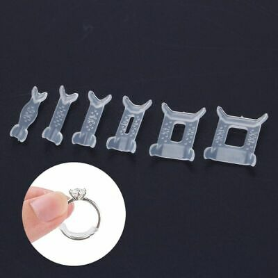 12Pcs Invisible Ring Size Adjuster for Loose Ring Size Spacer Reducer Ring Guard