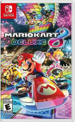 Mario Kart 8 Deluxe NEW - Nintendo Switch