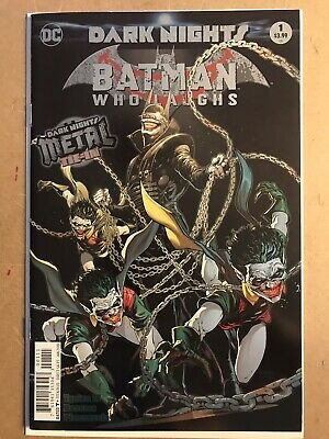 Dark Nights: The Batman Who Laughs 1 Foil Cover 1st Print. RARE DC COMICS