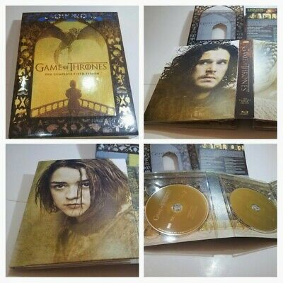 Game of Thrones: The Complete Fifth Season 5 Blu-ray + Digital - 4-Disc Set