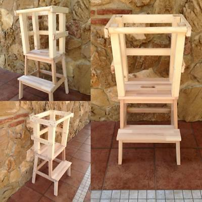 Learning Tower - Torre di apprendimento montessoriana - Naturale