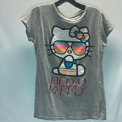 912943ccd HELLO KITTY SUNGLASSES T-Shirt Girls Size 8 Youth Brand New - $11.99 ...