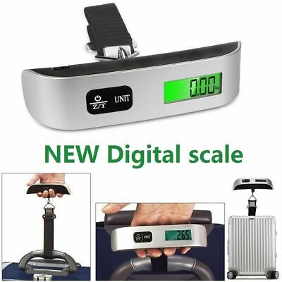 110lb 50Kg Luggage Scale Digital LCD Portable Travel Weight Scale Hand-Grip Hook
