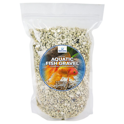 Sakana Natural Coral Fish Gravel - Decorative Tank Vivarium Aquatic Substrate