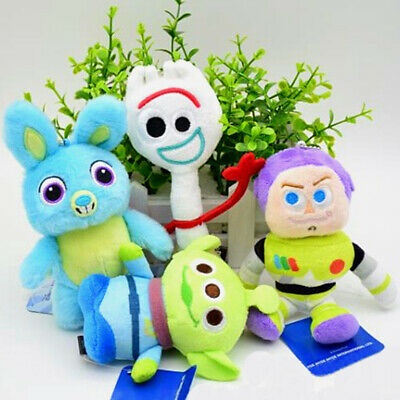 Toy Story 4 Plush Figure Toy Forky Buzz Aliens Bunny NUOVO Giocattolo IT