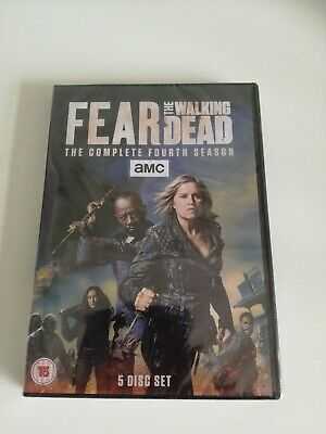Fear The Walking Dead Season 4 DVD Box Set Brand New