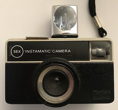 Kodak 56-X Instamatic Camera. Incl. Flashbulb and Booklet.