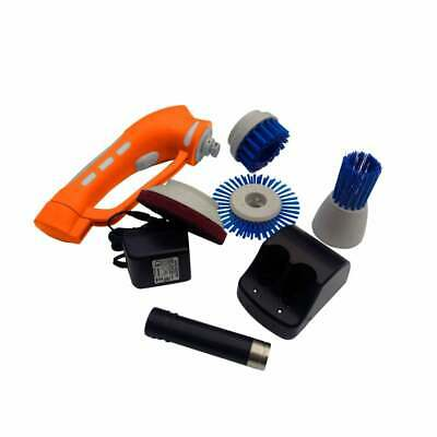 IVO Cordless Hand Held Power Brush Battery Operated Scrubber - Light Duty Kit