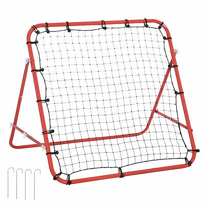 HOMCOM Rebounder Net  Practise Goal Play Kids Adults Baseball Soccer Training