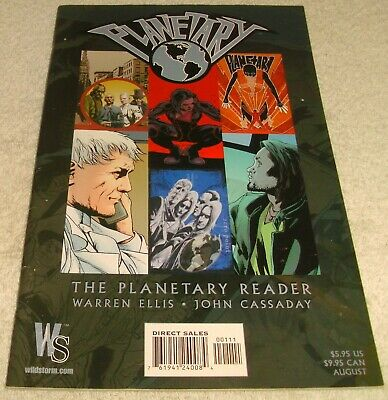 Wildstorm Comics The Planetary Reader 2003 # 1 Vf/Vf+