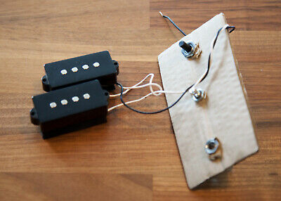 Precision P-Bass Pickups ***With pots wiring output***