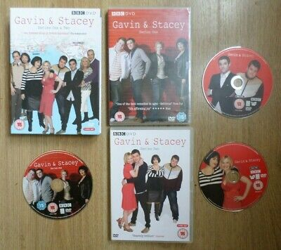 """Gavin & Stacey - Series One & Two (DVD) (15) (2008) 3-Disc Set """"Comedy"""""""