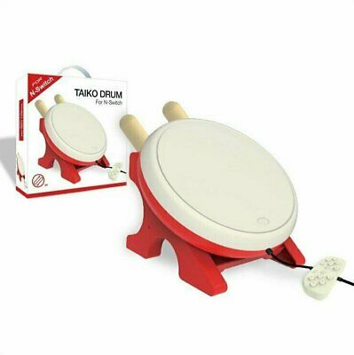New No Tatsujin Taiko Drum Controller Stick Set For Nintendo Switch Game Console