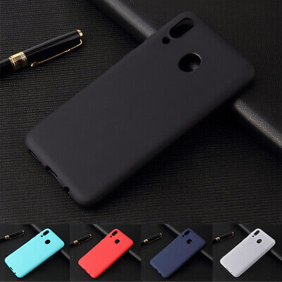 For Samsung Galaxy A20E A40 A50 A70 Soft Silicone Rubber Frosted TPU Cover Case