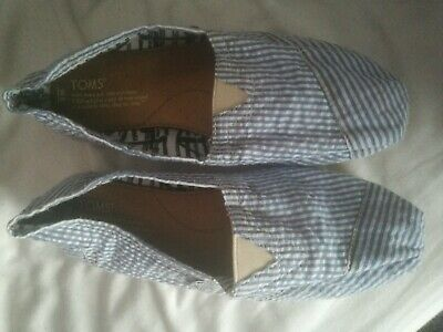 WOMENS TOMS CLASSIC CANVAS Shoes W9 UK SIZE 7