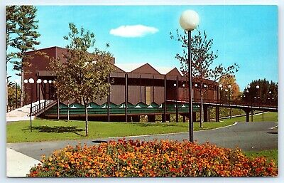 Postcard NY Saratoga Springs Performing Arts Center Photo View Vtg H5
