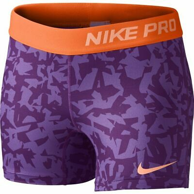 Girls Nike Dri Fit Competition Base Layer Shorts Purple 641641 550 XS New Tags