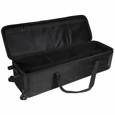 Large Portable Photography Roller Bag with Dividers | Hard/Durable | Lencarta