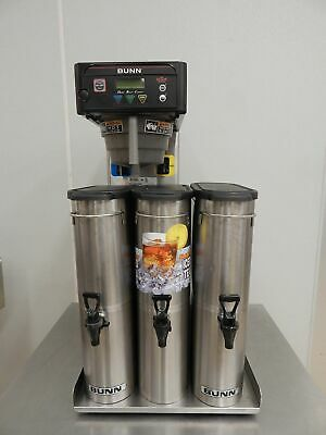Bunn Infusion Tea Brewer with 3 Urns, Model ITB