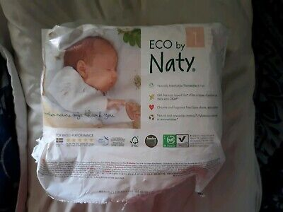 Naty Disposable Baby Diapers, 26 Ct, newborn up to 11lbs, eco-friendly & natural