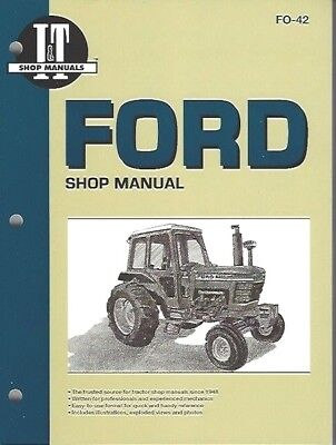 """FORD 5000,5600, 6600, 6700, 7000,7600, 7700 +'10"""" Series TRACTOR WORKSHOP MANUAL"""