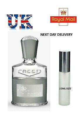 Creed Aventus Cologne - 10Ml - Atomiser - New Limited Stock