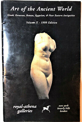Royal Athena Art Ancient World Antiques Greek Egypt Reference Sale Catalog Book