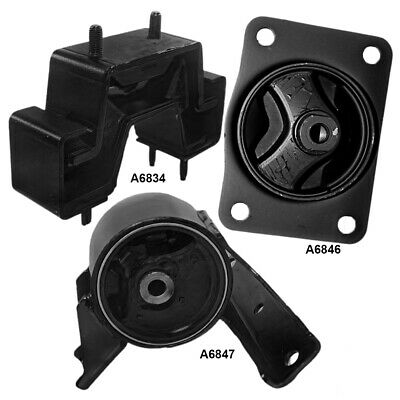Motor Engine & Auto Trans Mount Set 3PCS for Suzuki SX4 L4 2.0L