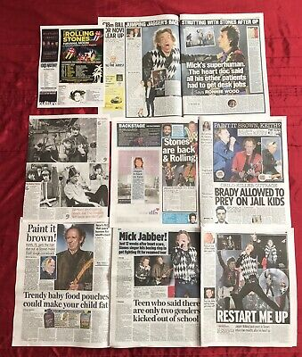 Rolling Stones Mick Jagger Is Superhuman Says Heart Doc UK Clippings Cuttings
