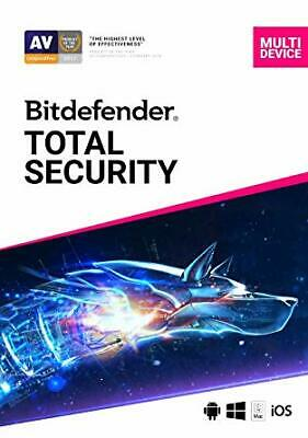 BitDefender Total Security 2020 5 Devices | 2 Years  + VPN