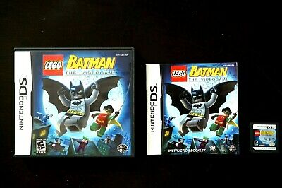 Lego Batman the Videogame ~ Nintendo DS Console ~ 100% Complete and Tested!
