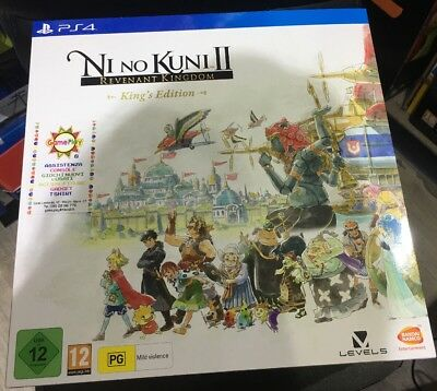Ni No Kuni 2 - King's Edition - Collector's Edition - PS4 NUOVA SIGILLATA
