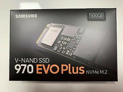 Samsung - 970 EVO Plus 500GB Internal PCI Express 3.0 x4 (NVMe) Solid State D...