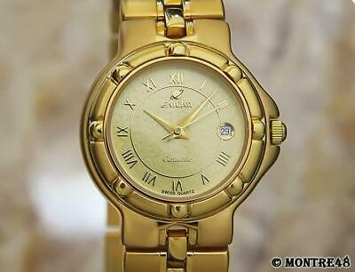 fa986e9a6 ENICAR Ladies Gold-Plated Cocktail Dress Watch c.1960s Vintage Swiss Luxury  DX26.
