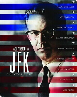 JFK - Limited Edition Steelbook [Blu-ray] NEW And Sealed!!