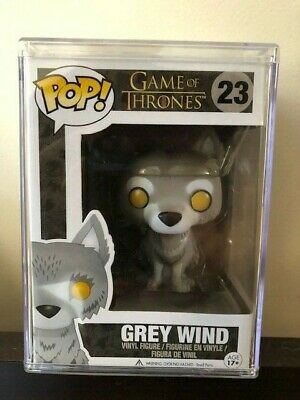 Funko POP Game of Thrones Grey Wind 7-11 exclusive Rare Retired Vaulted