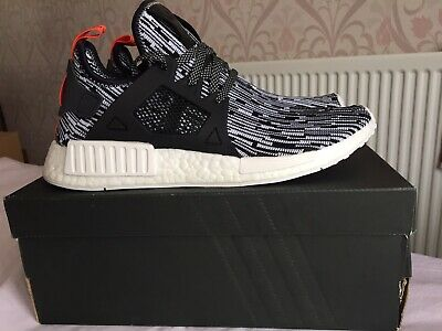 ADIDAS ORIGINALS NMD Xr1 Mens Taulp Silver Running Trainers