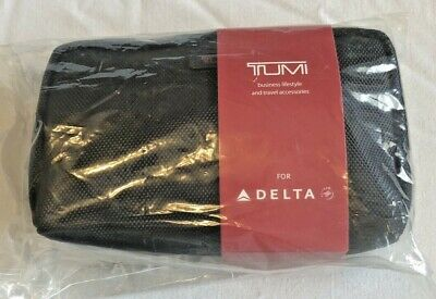 Tumi Travel Amenity Kit for Delta First Class,Unopened,New