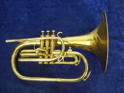 Classic Quality! King 1120 Marching Mellophone + Case