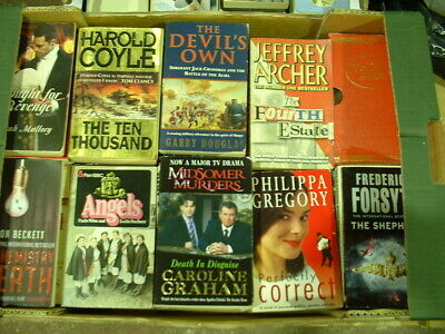 50 x FICTION PAPERBACK BOOKS SELECTION GOOD CONDITION - BULK LOT all different