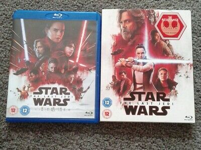 Star Wars The Last Jedi  (blu ray)
