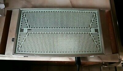 Retro Vintage Salton Glass Hotray Electric Buffet Food Warmer Hot Plate Catering