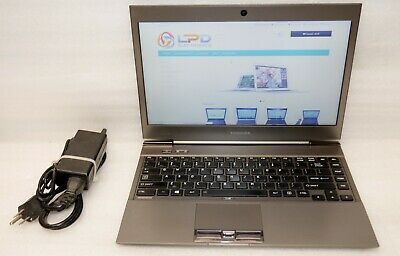 Toshiba Portege Z930 Intel Core i7 3667U 2.1 Ghz 6GB 128GB SSD Camera Windows 10