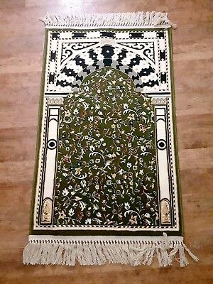 Alrawdah Carpet of Prophet's Mosque. Wool Prayer Rug Tapestry ORIENTAL ANTIQUE