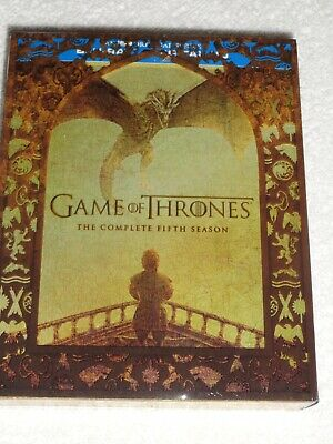 Games Of Thrones The Complete Fifth Season Blue Ray (Like New) No Digital Code