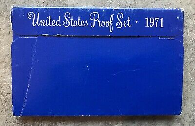 1971 USA United States Proof Coin Set.