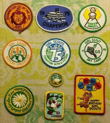 VINTAGE GIRL SCOUT Awards & Patches Lot - $31 00 | PicClick