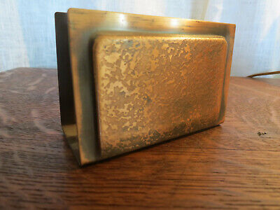 Signed Roycroft Letter Holder Copper Arts & Crafts Stickley Mission Era