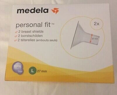 Brand New In Box - Medela Personal Fit Breast Shield x 2 Large 27 mm