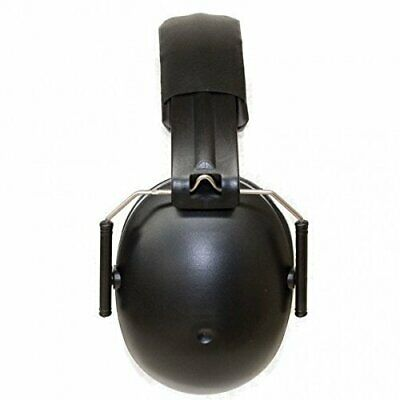 Baby Banz earBanZ Kids Hearing Protection, Black, 2 -10 YEARS by Baby Banz